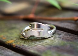 Hare Silver Ring