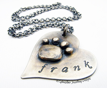 Sterling Silver Labradorite 'Fairytale' Pendant Necklace